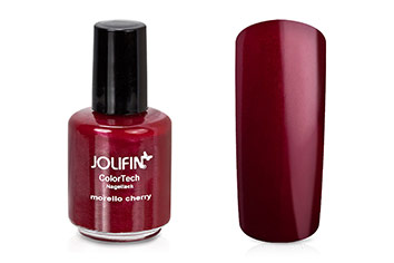 Jolifin ColorTech Nagellack morello cherry 14ml