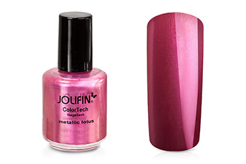 Jolifin ColorTech Nagellack metallic lotus 14ml