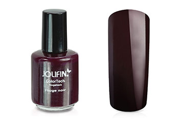 Jolifin ColorTech Nagellack rouge noir 14ml