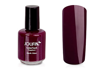 Jolifin ColorTech Nagellack dark lilac 14ml