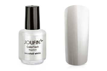Jolifin ColorTech Nagellack seashell white 14ml