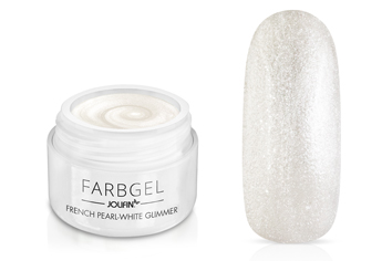 Jolifin Farbgel French pearl-white Glimmer 5ml