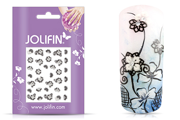 Jolifin Nailart Wedding Sticker Nr. 12