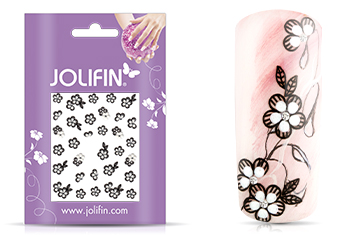 Jolifin Nailart Wedding Sticker Nr. 13