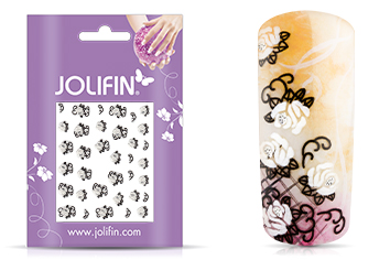Jolifin Nailart Wedding Sticker Nr. 16
