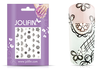 Jolifin Nailart Wedding Sticker Nr. 17