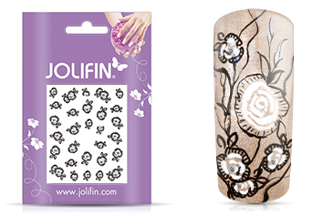 Jolifin Nailart Wedding Sticker Nr. 20