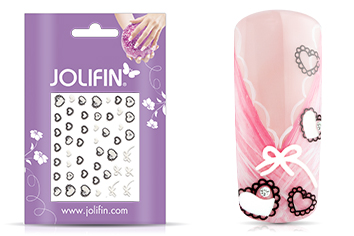 Jolifin Nailart Wedding Sticker Nr. 24