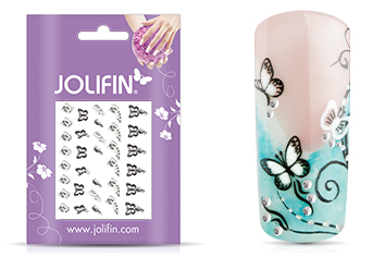 Jolifin Nailart Wedding Sticker Nr. 25