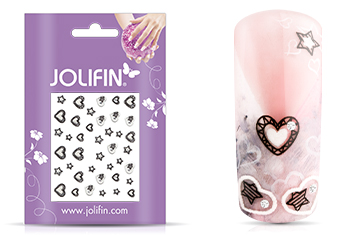 Jolifin Nailart Wedding Sticker Nr. 27