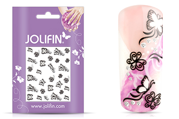 Jolifin Nailart Wedding Sticker Nr. 29