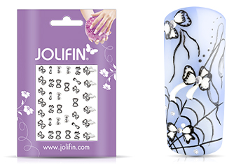 Jolifin Nailart Wedding Sticker Nr. 31