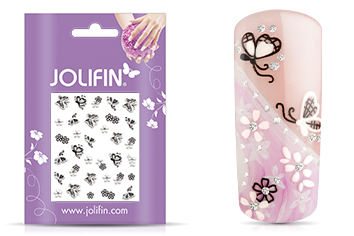 Jolifin Nailart Wedding Sticker Nr. 33