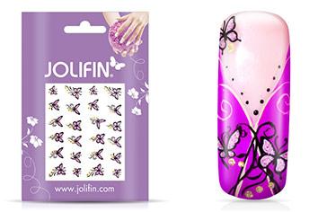 Jolifin Glitter Nailart Sticker 2