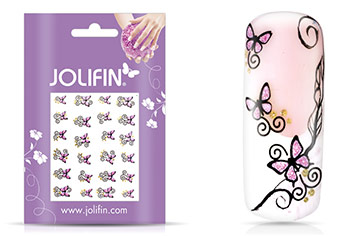 Jolifin Glitter Nailart Sticker 5