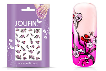 Jolifin Glitter Nailart Sticker 13