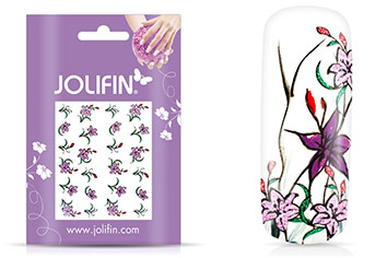 Jolifin Glitter Nailart Sticker 20