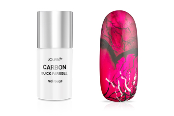 Jolifin Carbon Quick-Farbgel - red rouge 11ml