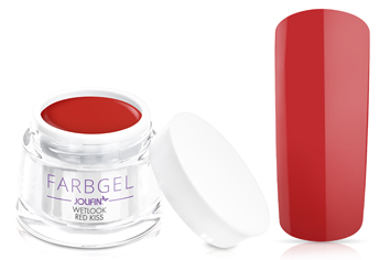 Jolifin Wetlook Farbgel 4plus red kiss 5ml