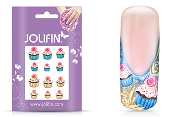 Jolifin sweet & tasty Nailart Tattoo 2