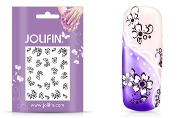 Jolifin Nailart Classic Dream Sticker Nr.17