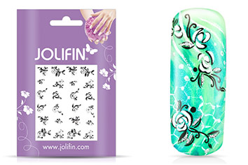 Jolifin Nailart Classic Dream Sticker Nr.23