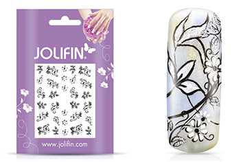 Jolifin Nailart Classic Dream Sticker Nr.24