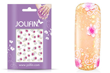Jolifin Blossom Nailart Sticker 8