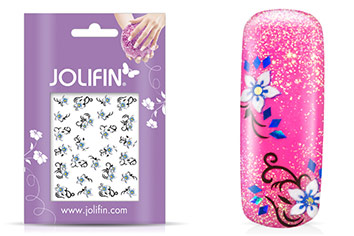 Jolifin Blossom Nailart Sticker 11