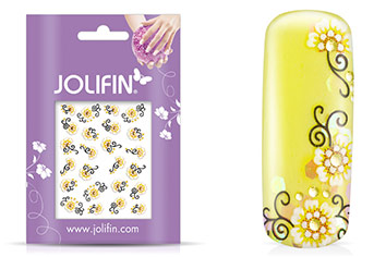 Jolifin Blossom Nailart Sticker 12