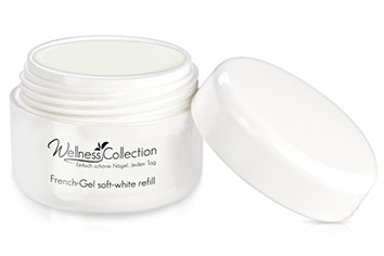 Jolifin Wellness Collection French-Gel soft white 15ml - Refill