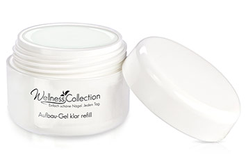 Jolifin Wellness Collection Aufbau-Gel klar 30ml - Refill