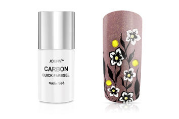 Jolifin Carbon Quick-Farbgel - nude rose 11ml