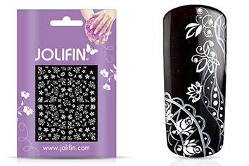 Jolifin White Romance Sticker 20