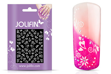Jolifin White Romance Sticker 23