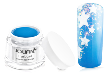 Jolifin Farbgel pastell neon-blue 5ml