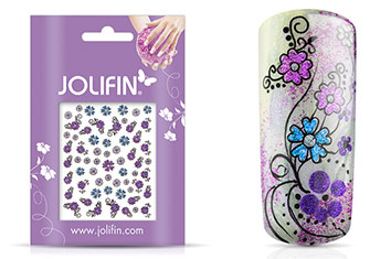 Jolifin Glitter Nailart Sticker 39