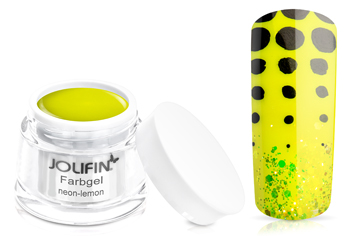 Jolifin Farbgel neon-lemon 5ml