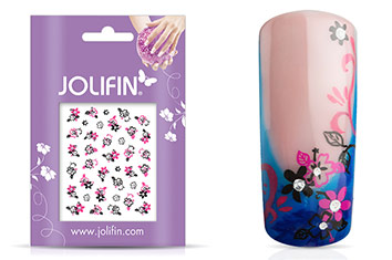Jolifin Nailart Twinkle Sticker Nr. 1
