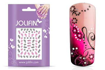 Jolifin Nailart Twinkle Sticker Nr. 4
