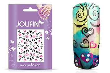 Jolifin Nailart Twinkle Sticker Nr. 9