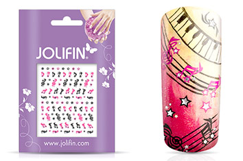 Jolifin Nailart Twinkle Sticker Nr. 10
