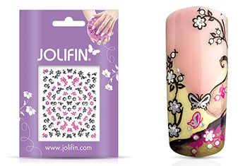 Jolifin Nailart Twinkle Sticker Nr. 11