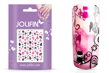 Jolifin Nailart Twinkle Sticker Nr.13