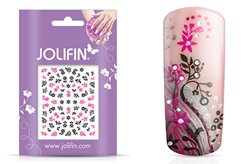 Jolifin Nailart Twinkle Sticker Nr.15
