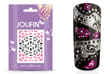 Jolifin Nailart Twinkle Sticker Nr. 16