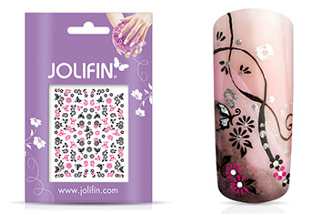 Jolifin Nailart Twinkle Sticker Nr. 19
