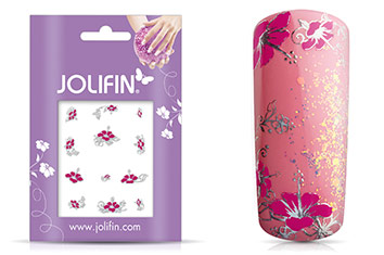 Jolifin Silver Glam Sticker 2