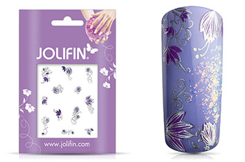 Jolifin Silver Glam Sticker 4