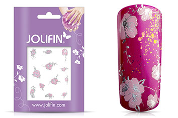 Jolifin Silver Glam Sticker 6